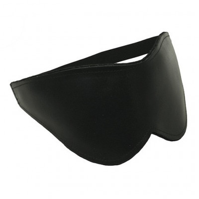 Deluxe Leather Blindfold