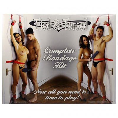 Tied and Teased complete Bondage Kit