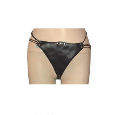 Sexy leather BDSM G string