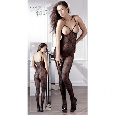 Open Crotch Breast-free Catsuit