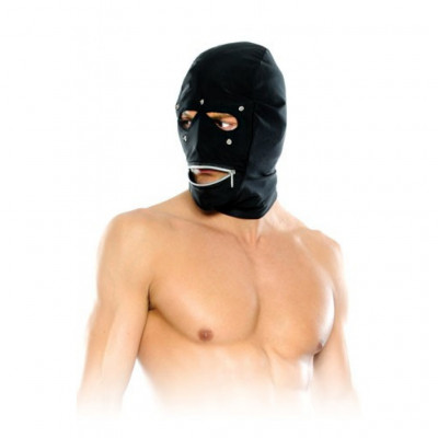 Fetish Fantasy Zipper Head Hood