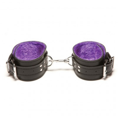 Purple Passion Ankle Cuffs by Allure Xplay