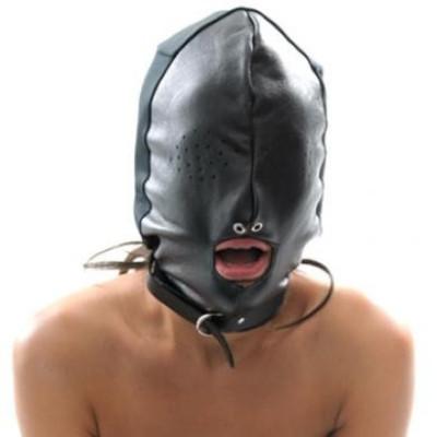 Leather Breathable Hood