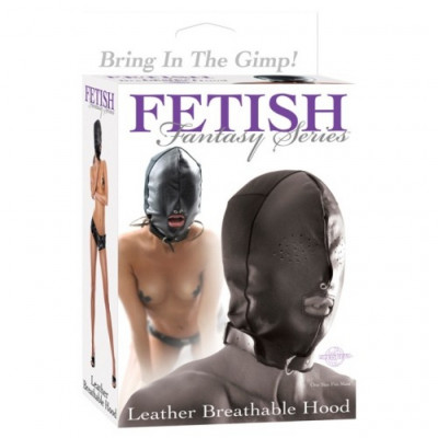 Leather Breathable Hood