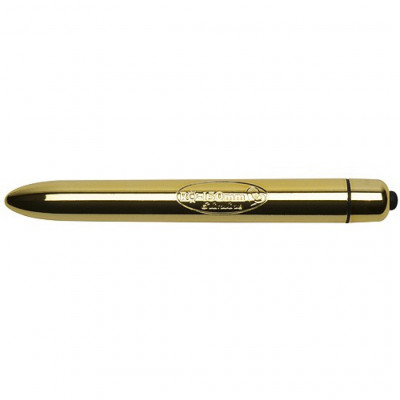 Rocks Off 15cm Slimline Golden vibrating Bullet