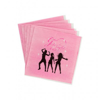 Girls Night Out Party Paper Napkins