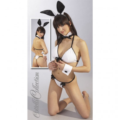 Black and White Bunny Girl Set