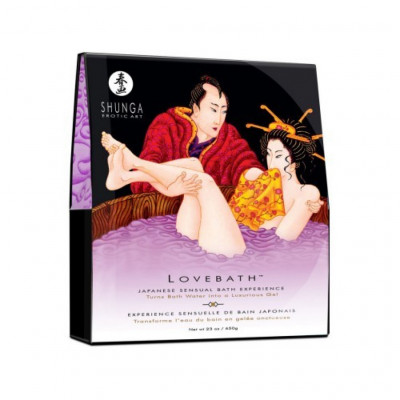 Sensual Japanese LoveBath in Lutos Temptations