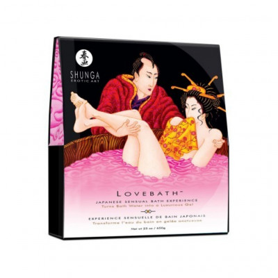 Sensual Japanese LoveBath in Dragon Fruit