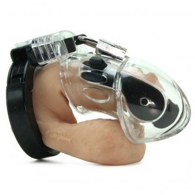 Mystim Pubic Enemy No 1 Electro Sex Cock Chastity cage