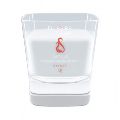 El Asira Sensual Massage Candle Elements - Oxygen
