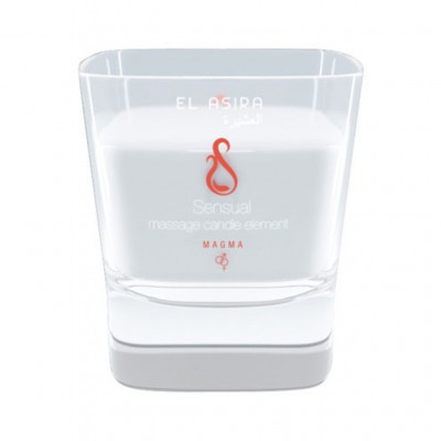 El Asira Sensual Massage Candle Elements - Magma
