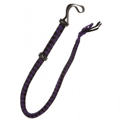 X-PLAY Bull Whip in Purple and Black