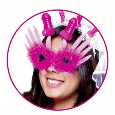 Bachelorette Masquerade Glasses