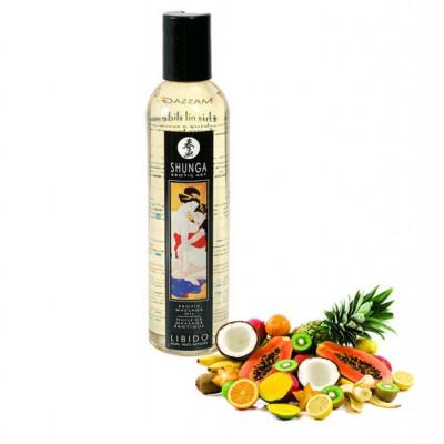 Λάδι μασάζ Shunga Libido Exotic Fruits 250ml