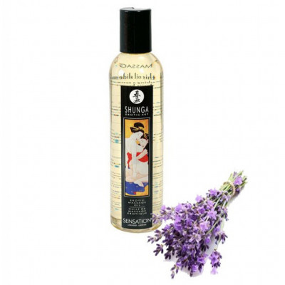 Shunga Sensation Lavender Massage Oil 250ml