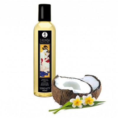 Shunga Serenity Monoi Massage Oil 250ml