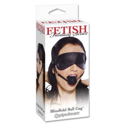 Φίμωτρο μπαλάκι στόματος με μάσκα προσώπου 2 σέ 1