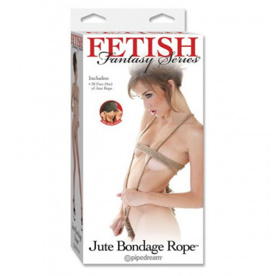 Fetish Fantasy Jute Bondage Robe