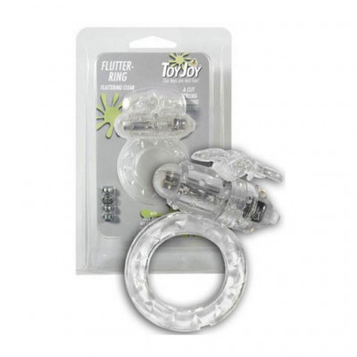 Flutter Vibrating Ring Clear