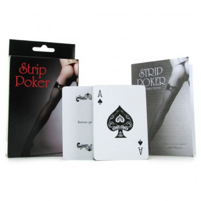 Strip Poker Card Game