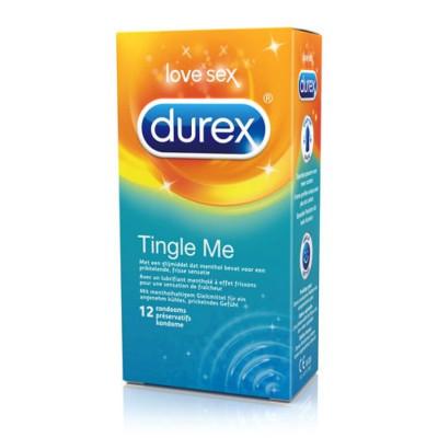 Durex Tingle Me Condoms - For Heightened Stimulation 12