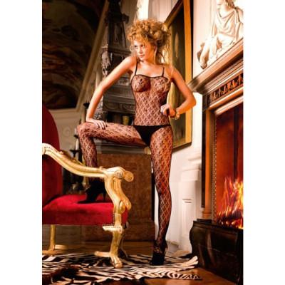 Baci Crotchless Lace Bodystocking