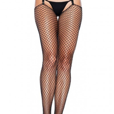 Extra Long Fishnet Stocking