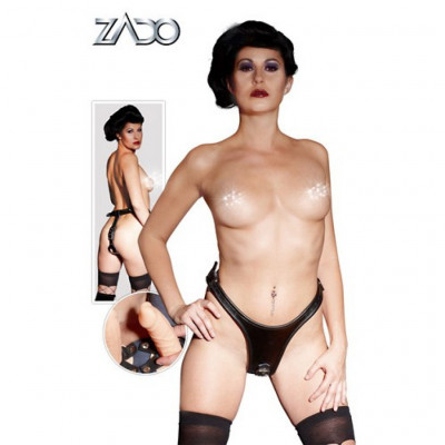 Zado leather dildo-string S-L