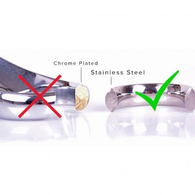 Austenitic Stainless Steel Slave Anklecuffs