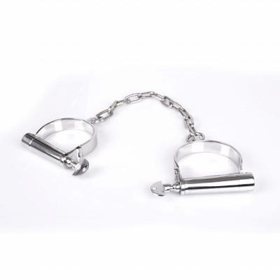 Austenitic Stainless Steel Slave Anklecuffs