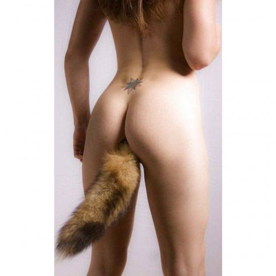 Fox Tail Steel Buttplug Medium