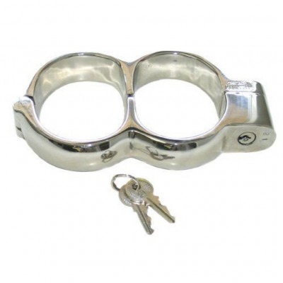Irish 8 type Steel Handcuffs Large Size