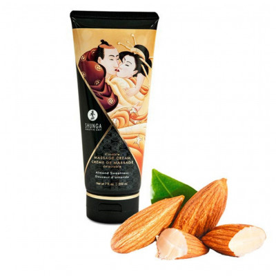 Shunga Massage Cream Almond Sweetness Flavor 200ml