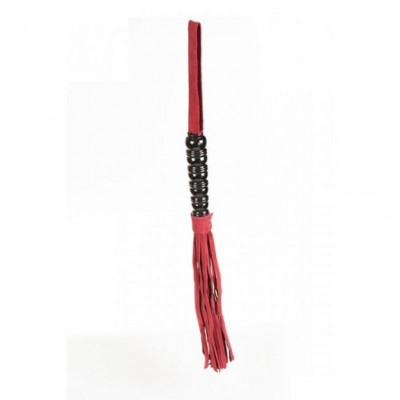 Red Nubuck Whip Flogger