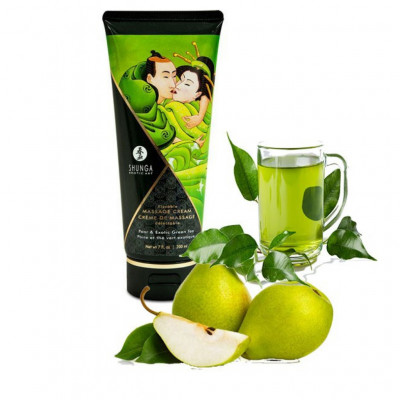 Shunga Kissable Massage Cream Pear 200ml
