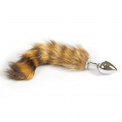 Fox Tail Steel Buttplug Small