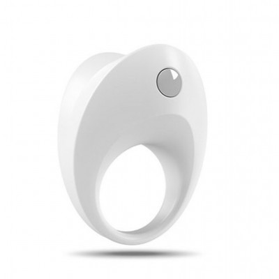 Ovo B10 Vibrating Cock Ring White