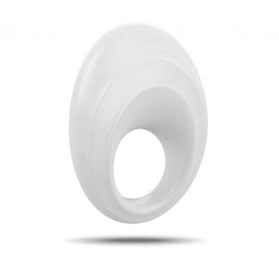 OVO B5 Silicone Vibrating Cock Ring White