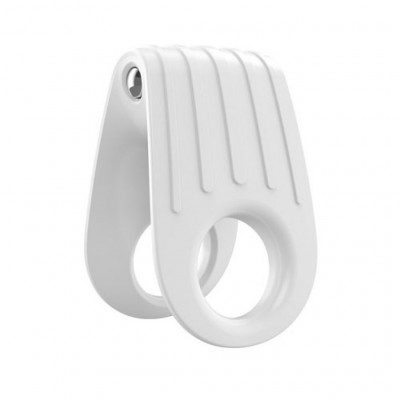 OVO B12 Vibrating Penis Ring White