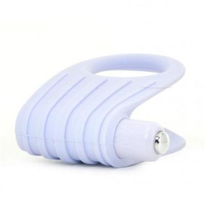 OVO B12 Vibrating Penis Ring White