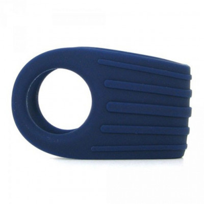 OVO B12 Vibrating Penis Ring Blue