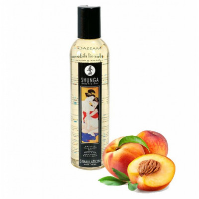 Shunga Stimulation Peach Massage Oil 250ml