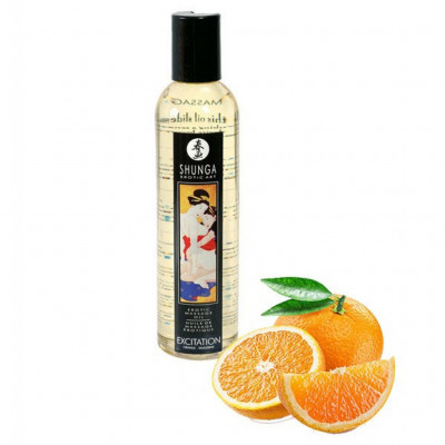 Shunga Excitation Massage Oil Orange 250 ml
