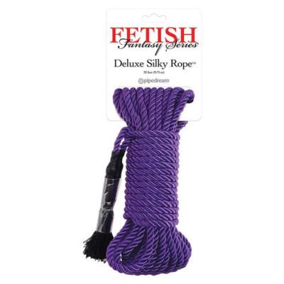 Deluxe Silky Rope Purple 10 meters