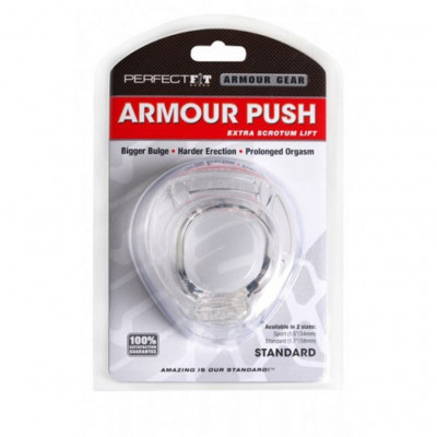 Perfect Fit Cock Armour Push Standard Clear