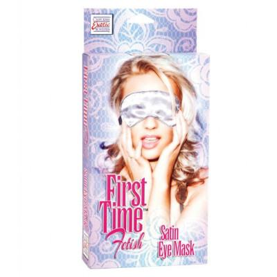 First Time Fetish Satin Eye Mask