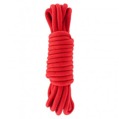 Hidden Desire Bondage Rope Red 5m