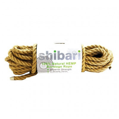 Natural Hemp Bondage Rope 10 m