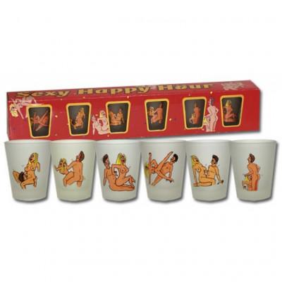 Sex Positions Shot Glasses